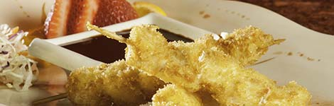 Chicken Katsu Skewers
