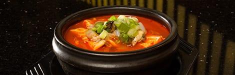 Seafood & Soft Tofu Stew